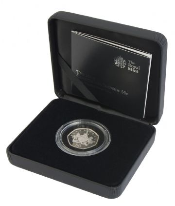 2013 Silver Proof Piedfort 50p - Christopher ironside